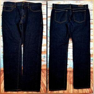 J. Crew factory slim-fit selvedge jeans sz 33 x 30